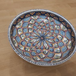 Keramik Flache Schale